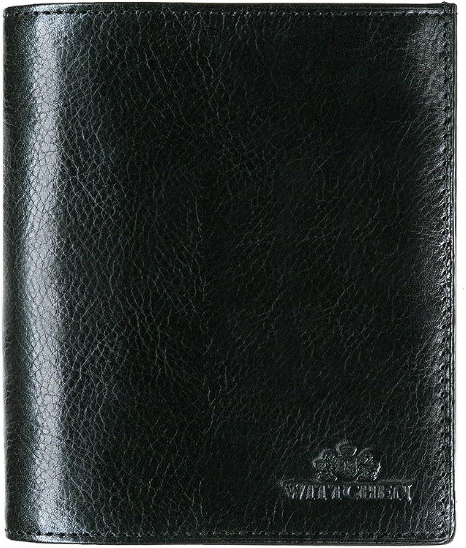WITTCHEN Geldbrse Geldbeutel Narbenleder   Elegant Ledergeldbrse etui   11,5x13 cm
