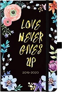 Planner 2019-2020 - Weekly & Monthly Planner with Tabs, 5.25