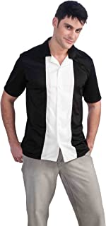 Men's Fabulous 50's Plus Size Bowling League Costume Shirt