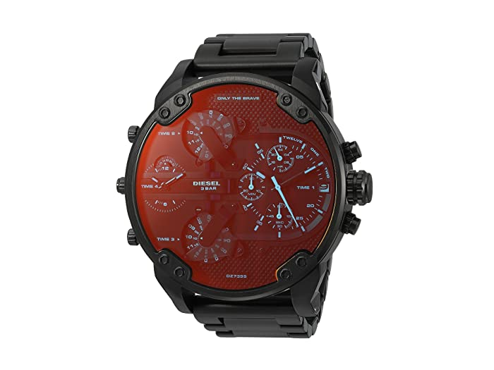Diesel  Mr Daddy 2.0 - DZ7395 (Black) Watches