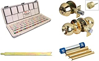 LAB Kit Bundle LAB Semi-Pro Rekeying Kit Kwickset cylinder Removal Tool,HPC Follower set, Combo lock Locksmith Practice .003
