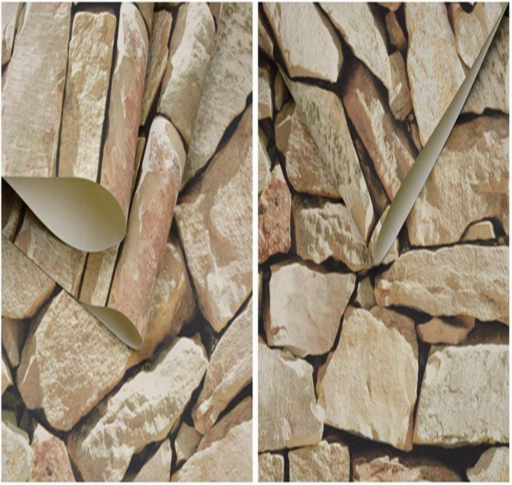 Est/éreo chino 3D impermeable antiguo cultura piedra piedra piedra roca papel tapiz restaurante caf/é fondo papel tapiz 1