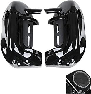 TCMT Lower Vented Leg Fairing +6.5'' Speakers +Grills Fits For Harley Electra Street Glide 1983-2013