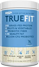 RSP TrueFit - Protein Powder Meal Replacement Shake for Weight Loss, Grass Fed Whey, Organic Real Food, Probiotics, MCT Oi...