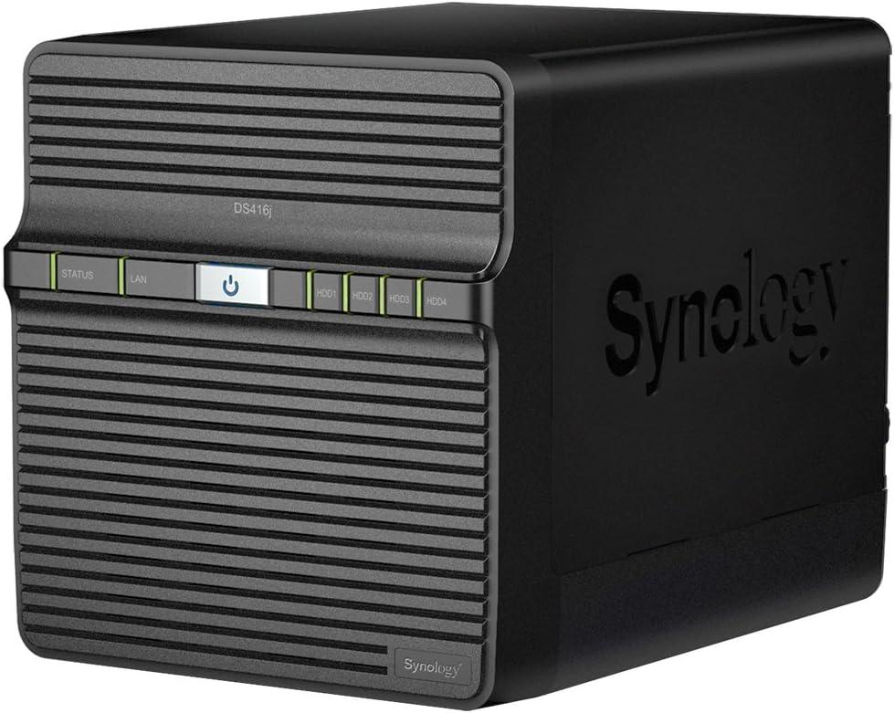 Synology Ds416j 4 Bay Desktop Nas Gehäuse Computer Zubehör