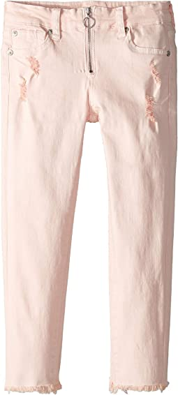 The Ankle Skinny Stretch Colored Denim Jeans in Pearl (Big Kids)