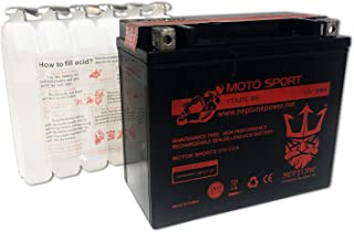 YTX20L-BS Replacement Battery for Kawasaki Jet Ski JS550 550cc 82-85 brand product by Neptune
