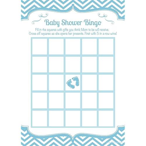 Baby Shower Bingo Cards Amazon Com