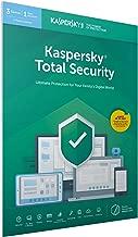 Kaspersky Total Security 3 Licencias 2 Años | PC/Mac/Android | Codigo en en paquete [windows_10,windows_8_1,windows_7,mac_os_x,android]