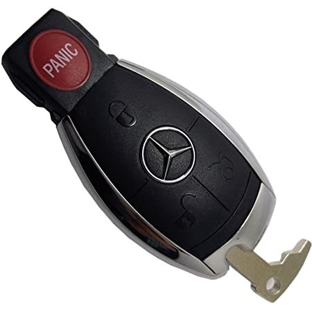 Amazon Com Replacement Keyless Remote Fob Key Shell Case Replacement Fit For Mercedes Benz W203 W210 W211 Amg W204 C E S Cls Clk Cla Slk No Chip Iyz3312 Beauty