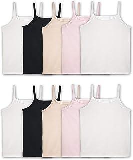 قمصان داخلية للفتيات من Fruit Of The Loom (قميص بدون أكمام) (عبوة من 10)