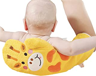 Wididi Baby Shower and Bath Glove - Cotton Terry Cloth Hand-Worn Towel with Giraffe Design - Soft and Gentle for Washing o...