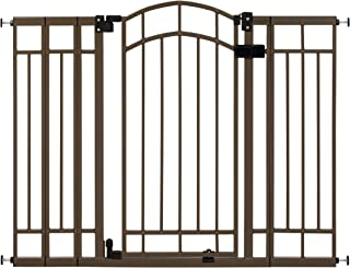 """Summer Multi-Use Decorative Extra Tall Walk-Thru Baby Gate, Metal, Bronze Finish - 36"""" Tall, Fits Openings up to 28.5"""" to ..."""