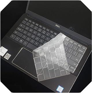 13.3インチのFor Dell Inspiron 13 5000 5390、For Dell Vostro 13 5390ラップトップ-TPUクリアラップトップキーボードカバープロテクタースキン-TPU-