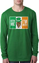 Retta Kith Me I'm Irith Mike Tyson St. Patrick's Day Men's Long Sleeve T-Shirt