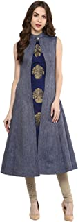 smartshop Women's Denim Long Kurti