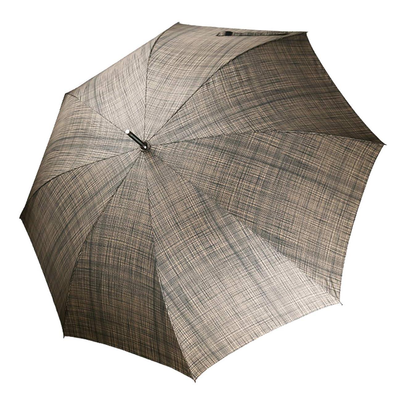 司書いくつかのいつも長傘 メンズ傘 紳士傘 自動開けステッキ傘 和風傘 テフロン超撥水 ワンタッチ 丈夫 撥水 耐風 210T高強度グラスファイバー 軽量 大きい ゴルフ ビジネス 車 晴雨兼用