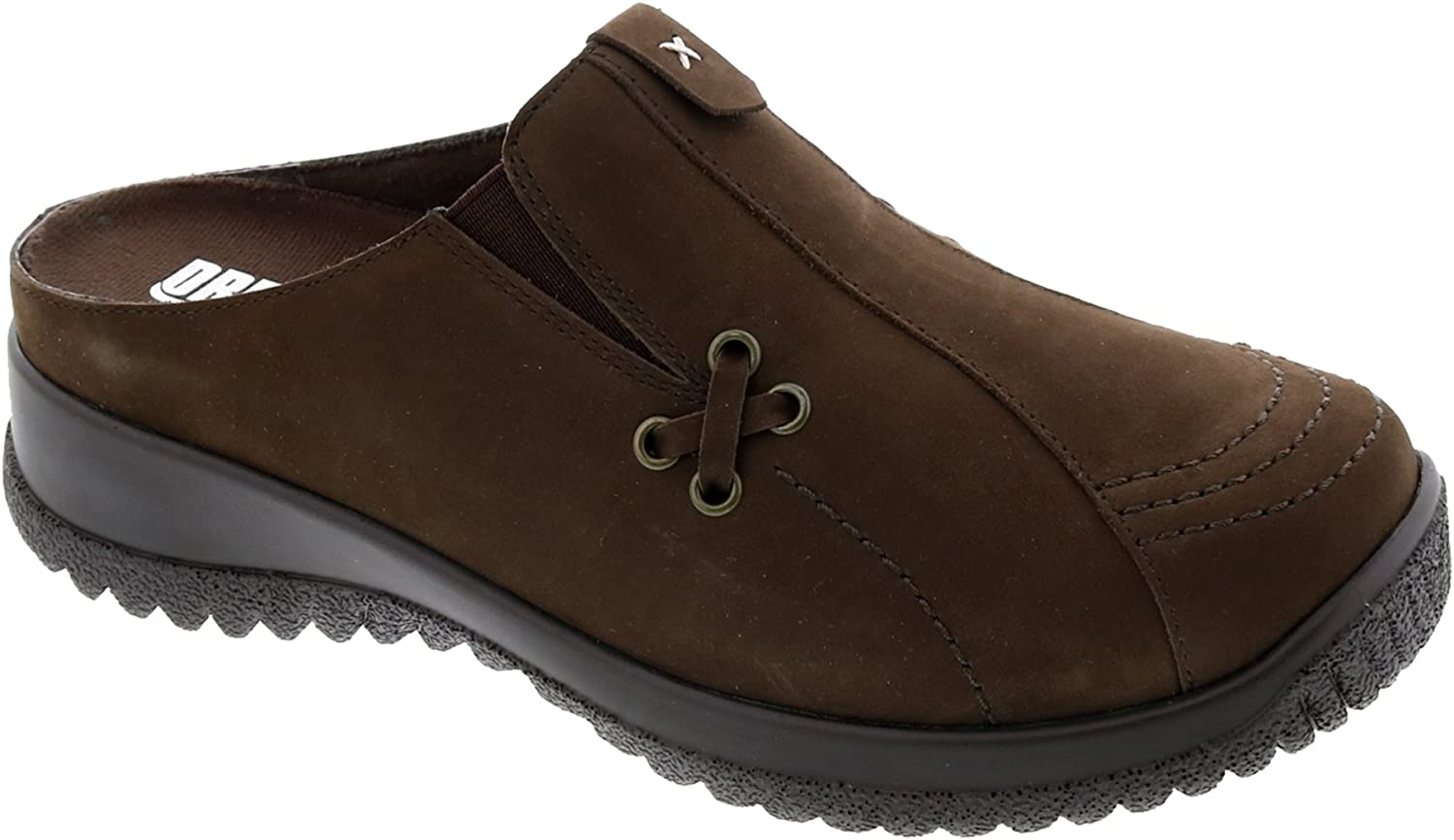 Drew Shoes Hannah 17102 Baltimore Mall Women's Casual Brown Nubuck 11 Clog: Max 80% OFF Nar