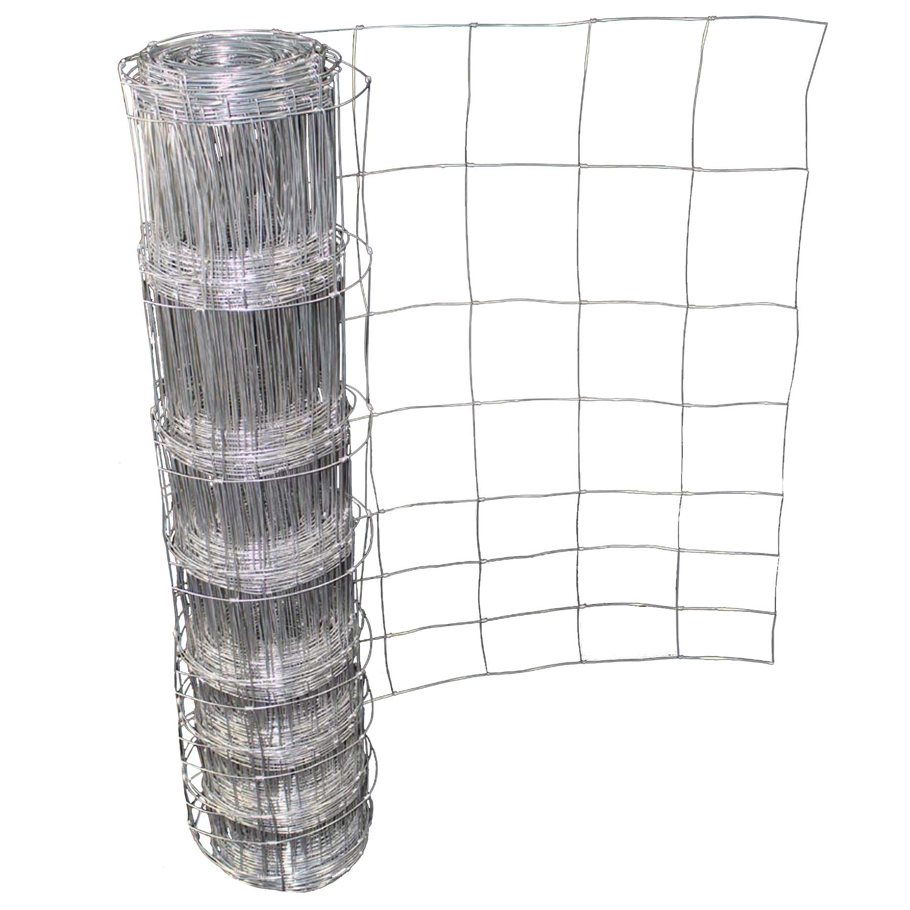 4wire Stock Fencing L8//100//15 1mt high HOT DIP GALVANISE