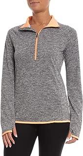 Under Armour DFO Microthread ½ Zip Long Sleeve Shirt - Small Heather Grey