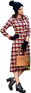 ladyline Casual Cotton Kurti for Women Indian Kurta Button Down Neck Tunic Top