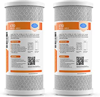 SimPure Carbon Water Filter, 5 Micron 10
