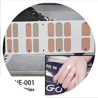 1 Sheet Toe Sticker Nail Art Foil Adhesive Extended Wear Toe Nail Decoration Waterproof Stickers,UNE-001