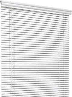 CHICOLOGY Custom Made Corded 1-Inch Aluminum Mini Blind, Blackout Horizontal Slats, Inside Mount, Room Darkening Perfect for Kitchen-Bedroom-Living Room-Office and More - 79
