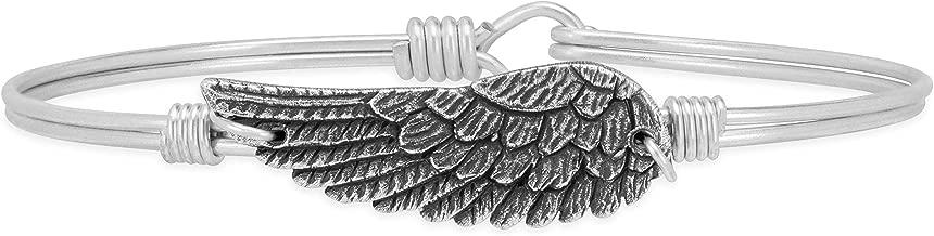 Luca + Danni Angel Wing Bangle Bracelet for Women Made in USA