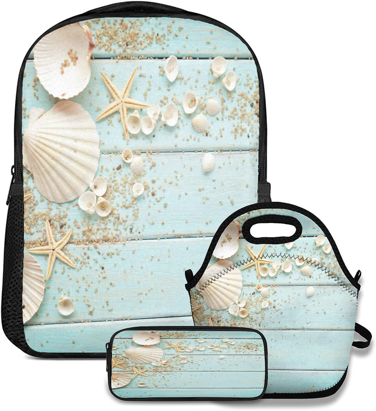 Backpack Lunch tote Bag and Pencil Max 63% OFF Case backg Summertime set 3pc Rapid rise