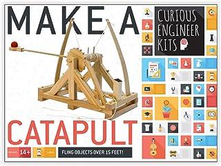 Copernicus Toys Wooden Leonardo Da Vinci Make a Catapult Kit