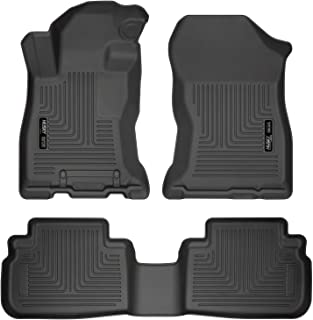 Husky Liners Fits 2019 Subaru Forester Weatherbeater Front & 2nd Seat Floor Mats