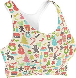 Rainbow Rules Hidden Mickeys Colorful Retro Disney Christmas Sports Bra