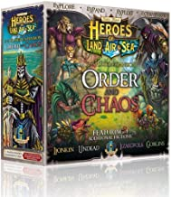 Gamelyn Games Heroes of Land, Air & Sea UNPAINTED - Order and Chaos Expansion - Expand up to 6 Players