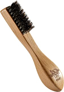 BFWood Beard Brush - Ergonomic Design with Unique Taper Bristle and Large Handle, for All Beards