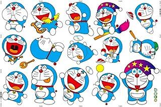 EASTVAPS Doraemon Nobita Nobi Dibujos Animados Vinilos Decorativos Papel Pintado Decorativo