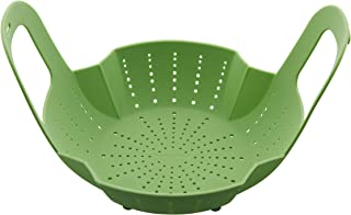 Instant Pot 5252049 Official Silicone Steamer Basket, Compatible with 6-quart and 8-quart cookers, Green