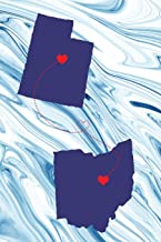 Long Distance Out of State Journal: Utah & Ohio (Two Souls One Heart US States Diary Notebook)