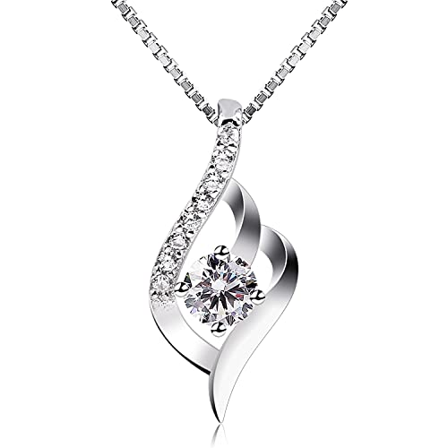 a8ea46a55 B.Catcher Sterling Silver Necklaces Birthday Gifts for Women Pendant  Necklace, 18""