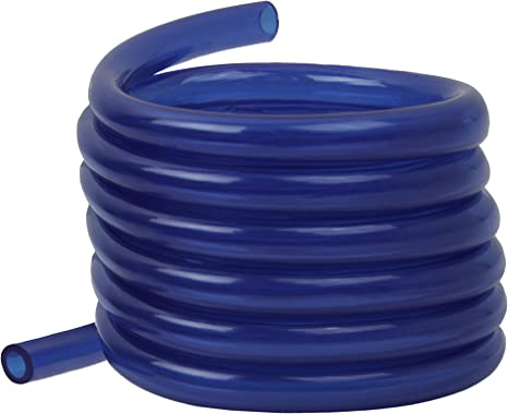 Raider Polyurethane Fuel Gas Line Tubing Hose Roll Blue (5 Ft. x 1/4 In.): image