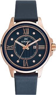 Sydney Watches | 36 MM Women's Analog Minimalist Watch | Leather Band