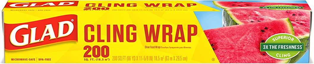 Glad Cling Wrap, 200 ft