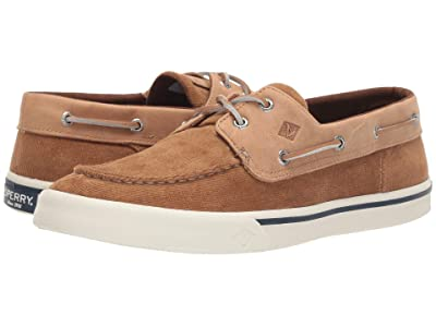 Sperry Bahama II Corduroy Sneaker (Tan) Men