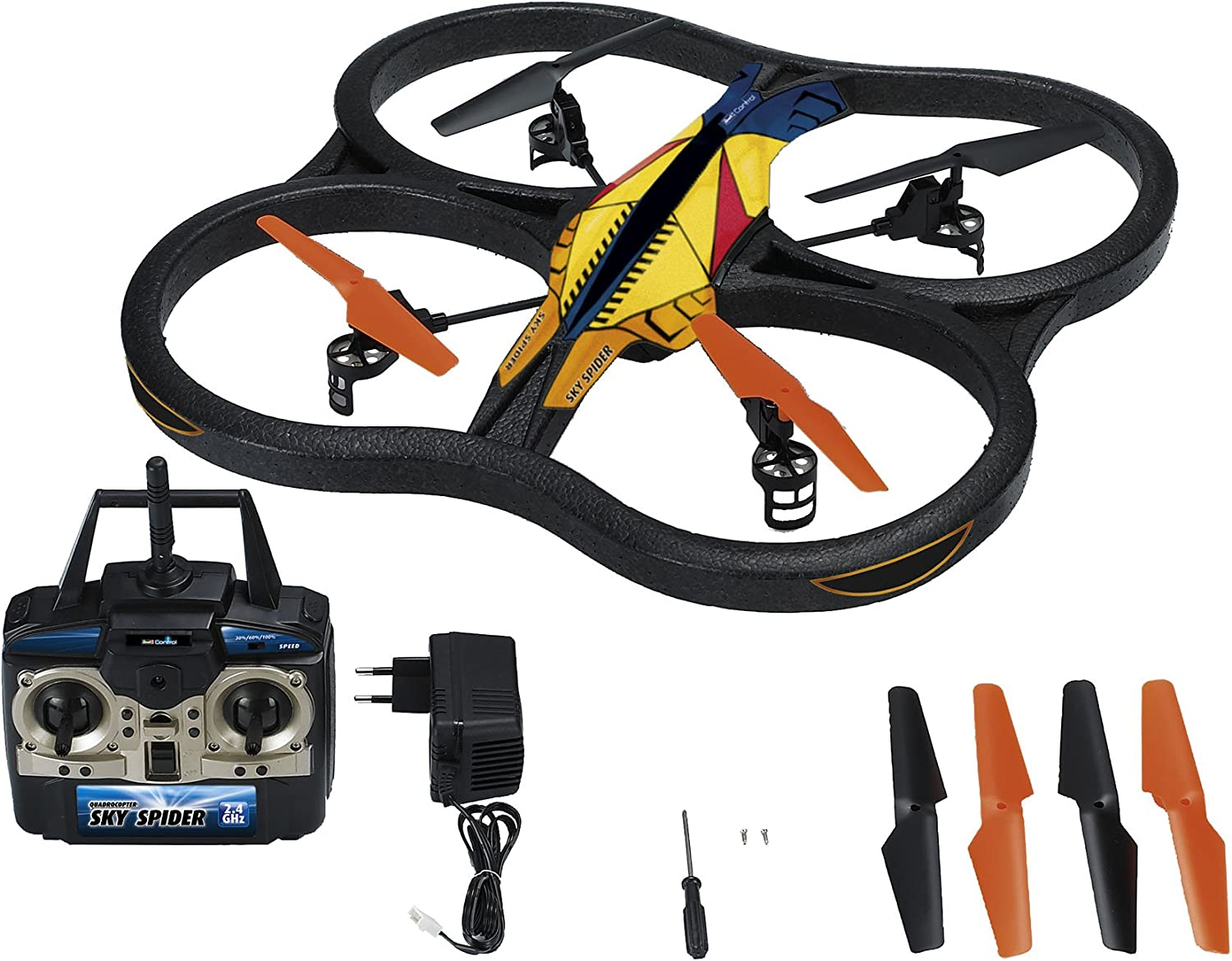 Revell Control 23978 - Quadrocopter, Sky Spider, RTF 4CH ferngesteuerter Helikopter B00E9S1D2I Sehr gute Qualität  | Up-to-date Styling