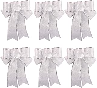 Best silver door bow Reviews