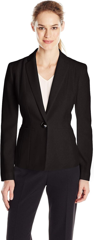 Kasper Women's Stretch Crepe One Button Jacket