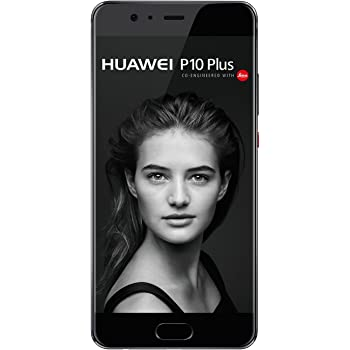 Huawei P10 Plus Smartphone (13,97 cm (5,5 Zoll) Touch-Display, 128 GB Interner Speicher, Android 7.0) Graphite Black