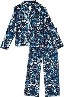 Jelli Fish Boys 2-pc Navy Skull Crossbones Fleece Pajamas