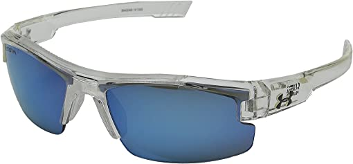 Storm Shiny Crystal Clear/Gray Polarized/Blue Mirror Lens