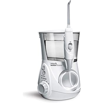 Waterpik WP-660 Water Flosser Electric Dental Countertop Professional Oral Irrigator For Teeth, Aquarius,White